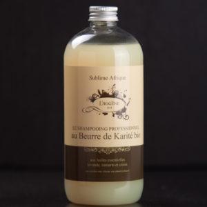 Shampooing au beurre de karité bio